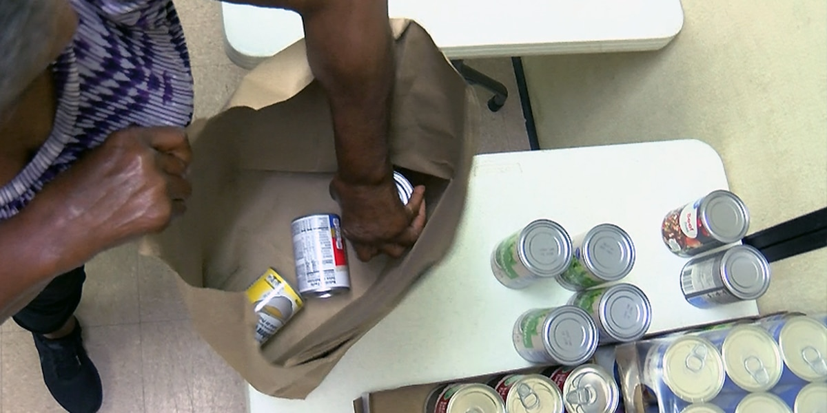 New Zion Baptist Church holds 7th annual food drive