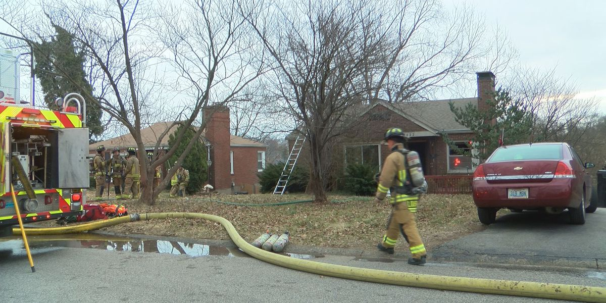 Fire starts in Audubon Park home
