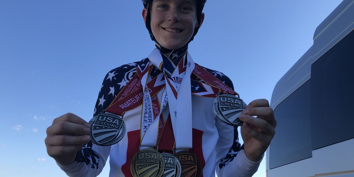 12 Year Old Cyclist is Already a National Champion