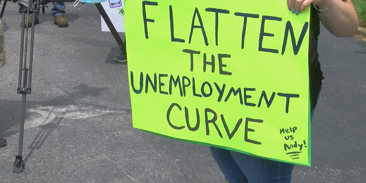 Unemployment protesting met with on-site processing at Ky. Capitol