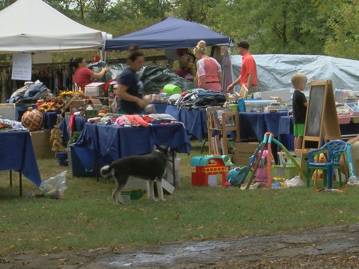 Louisville couple hosts yard sale to raise funds for ongoing adoption
