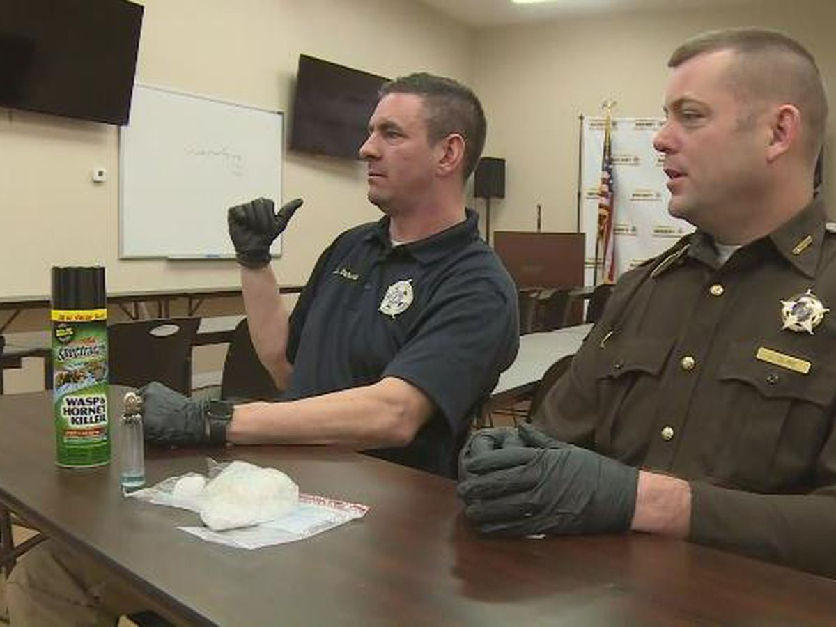 Deputies concerned about new 'wasping' trend among meth users