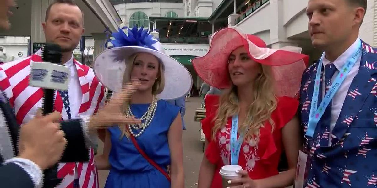 First-time Derbygoers are all about America