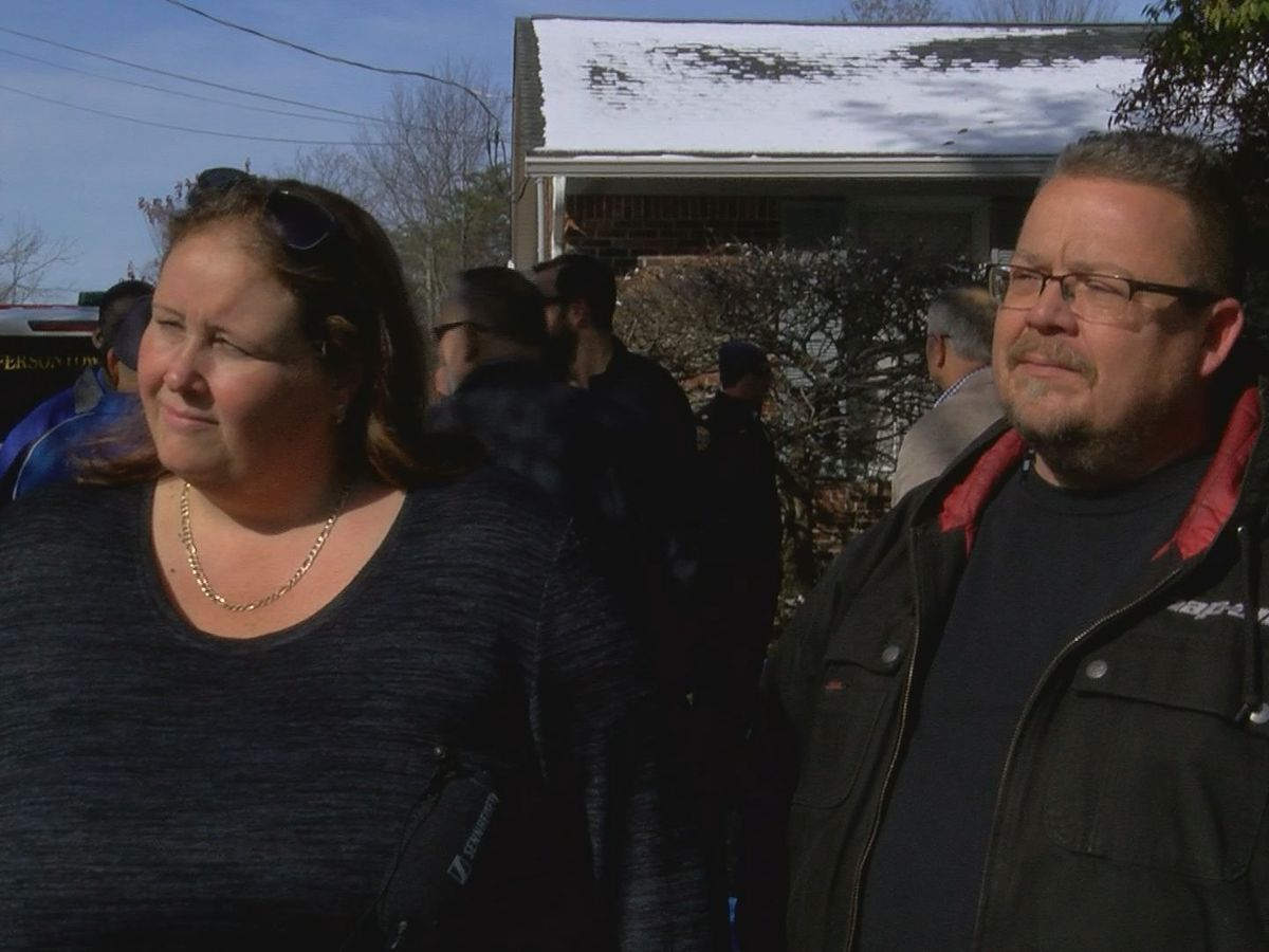 Couple grateful for quick actions of first responders during fire