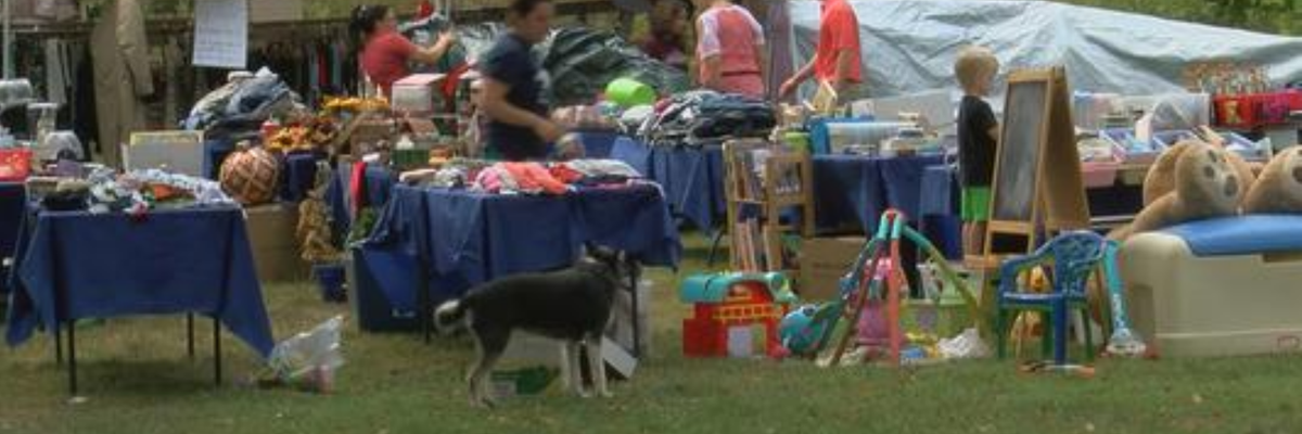 Family hosts yard sale to raise funds for adoption campaign