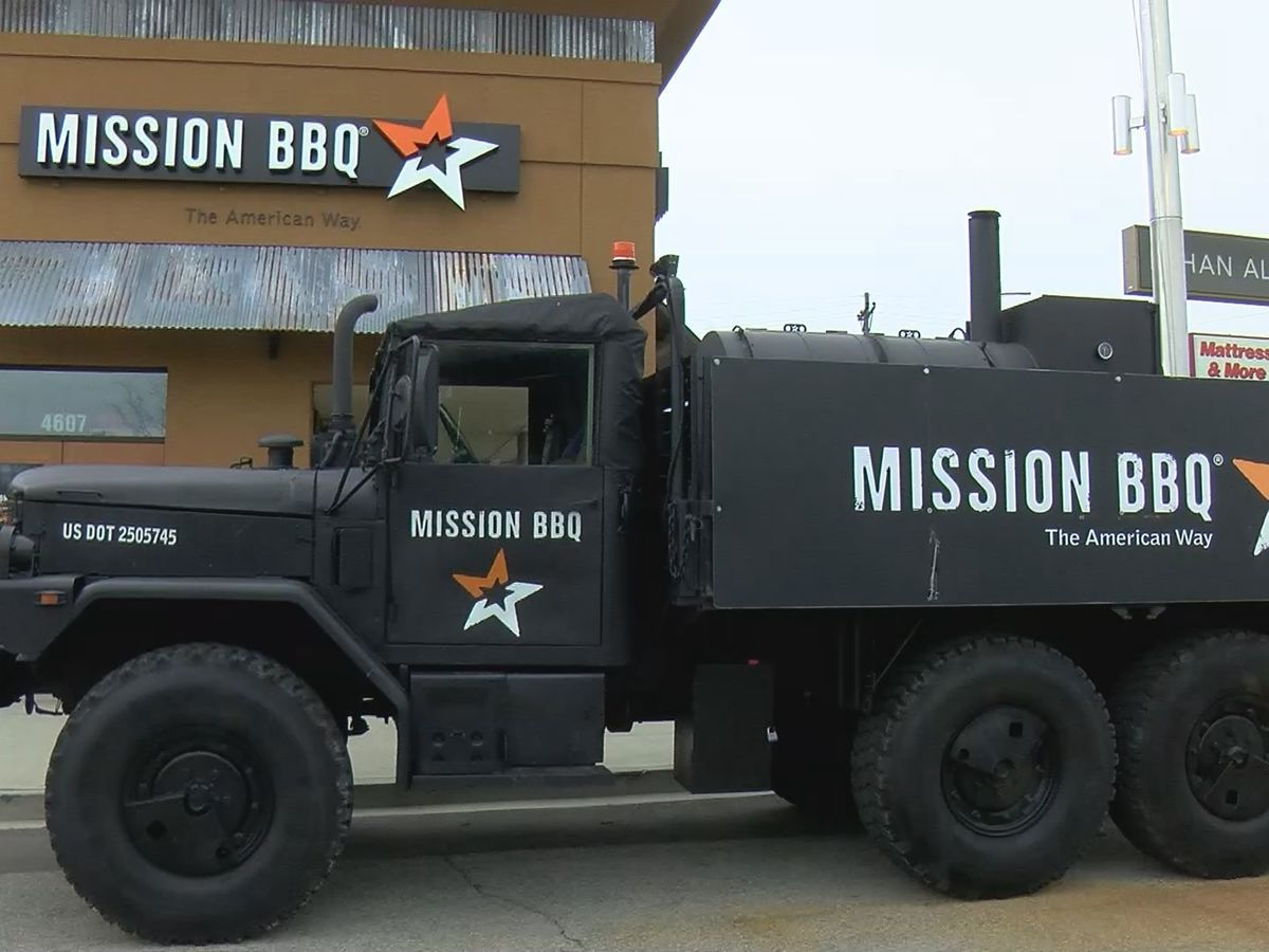 Mission BBQ honors veterans with free meals to remember Armed Forces Week