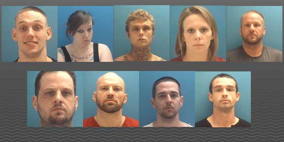 9 with connections to Aryan Brotherhood arrested in central Indiana