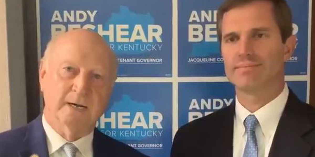 WATCH: Rep. Sen. Dan Seum endorses Democrat Andy Beshear in governor's race
