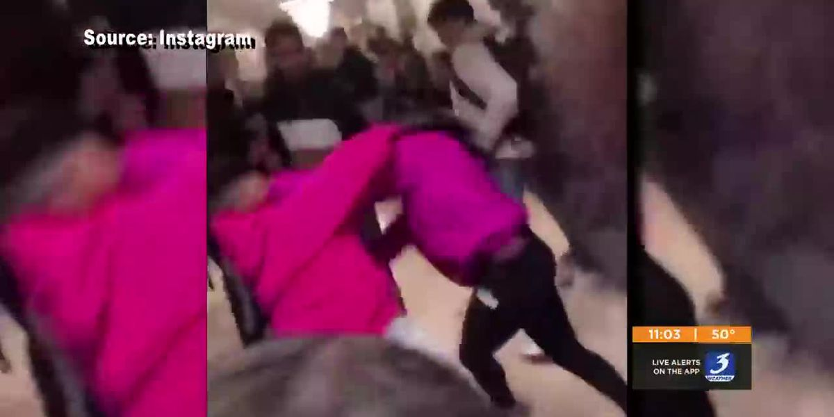 Principal hurt in brawl at Iroquois High School
