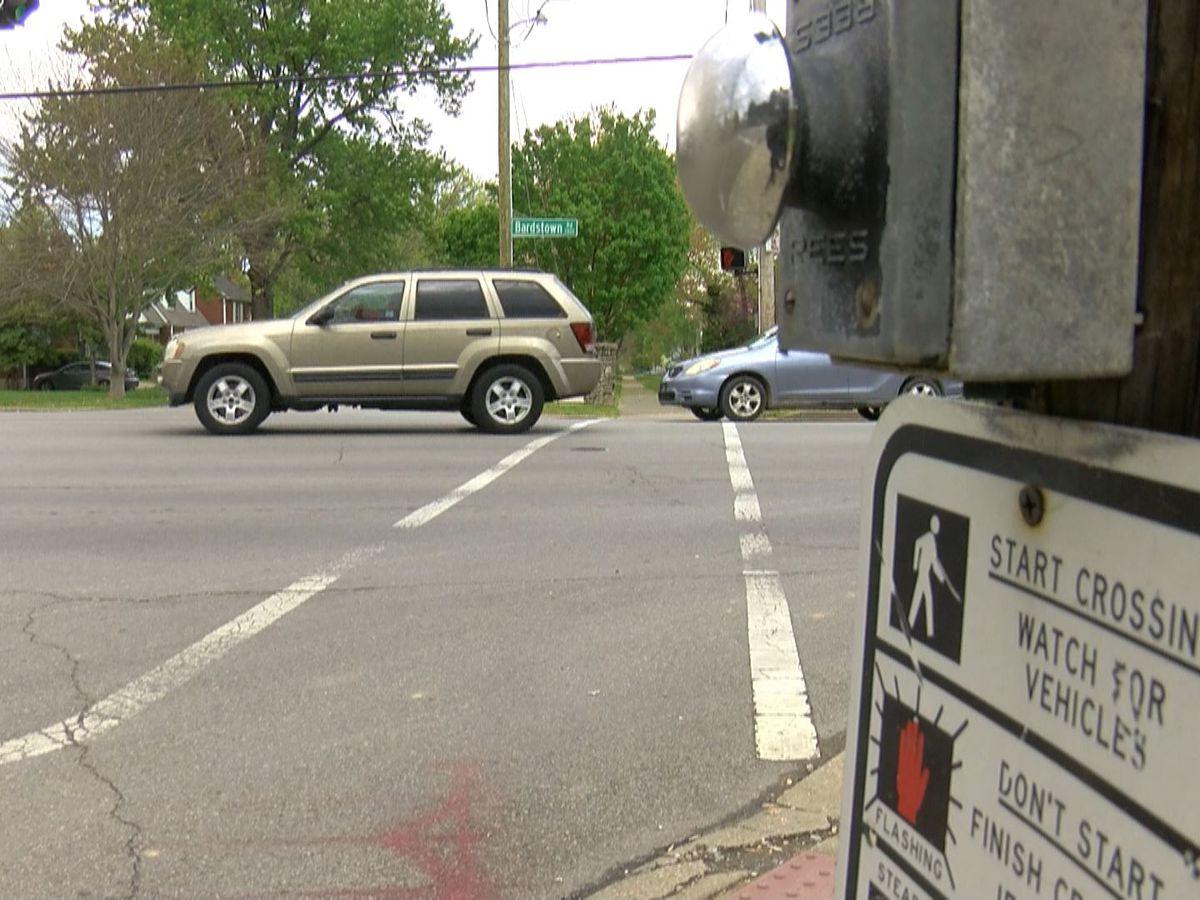 Woman shot, followed while driving near Assumption High School