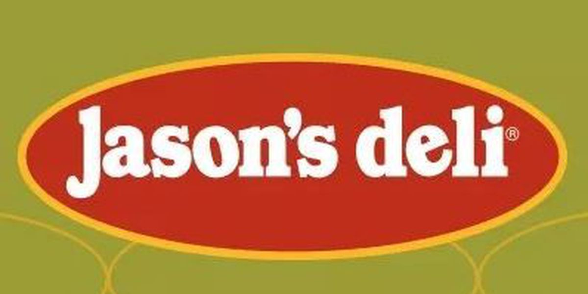 Jason's Deli offering dry goods, meats and cheese for sale by the pound