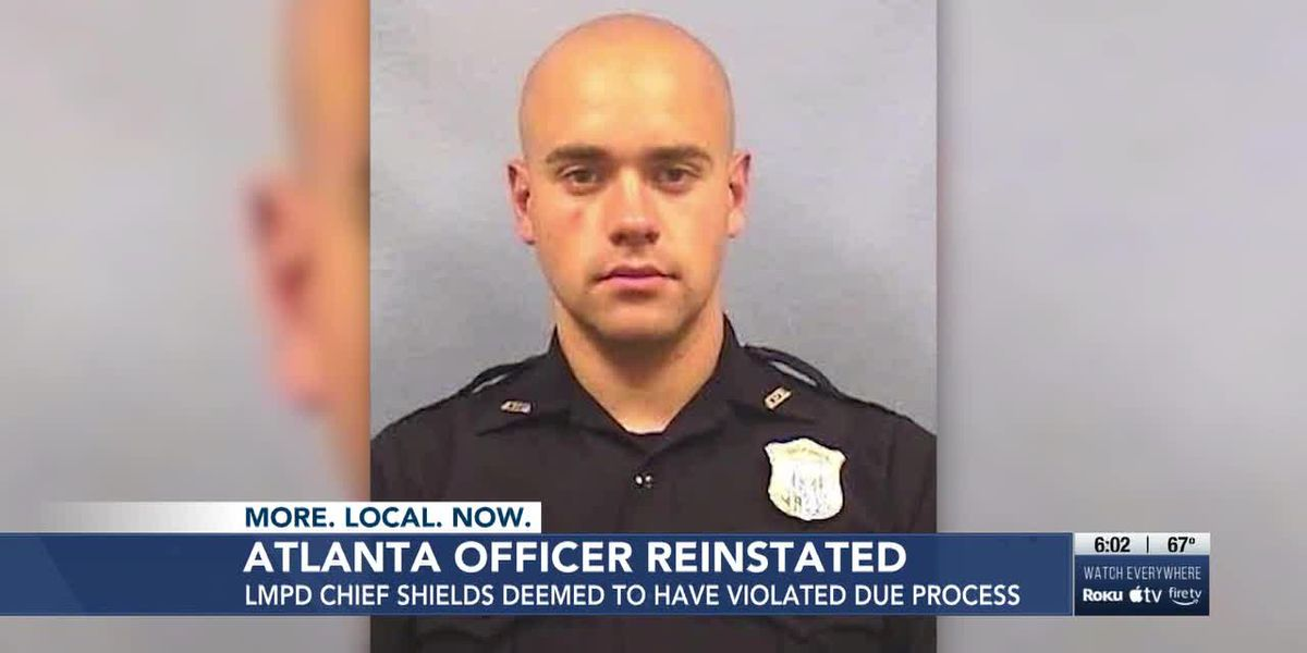 Shields deemed to have violated Atlanta officer's due process yet again