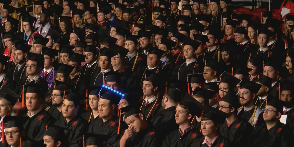 UofL celebrates largest graduating class in decades