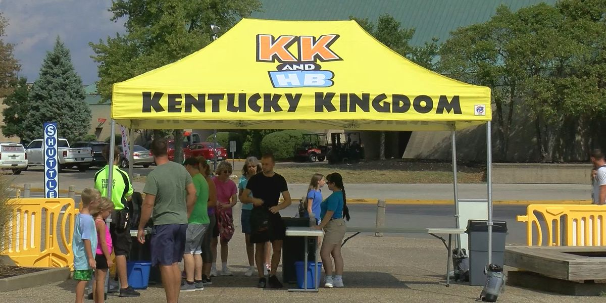 First responders got in free over the weekend at Kentucky Kingdom