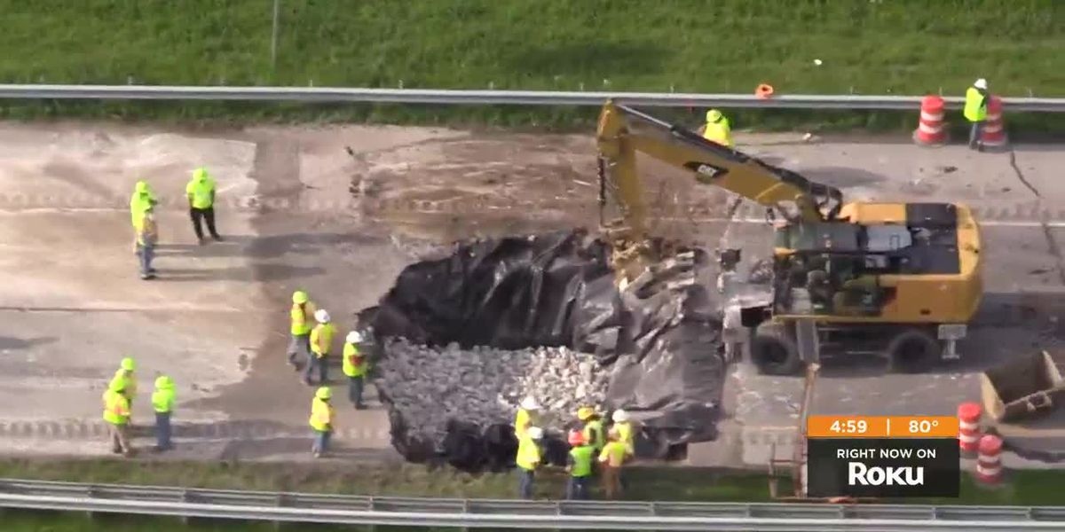 Two killed in crash near I-265 sinkhole