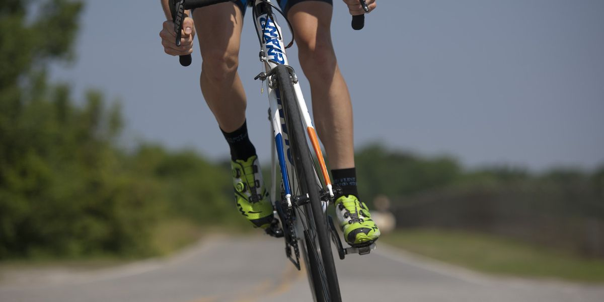As the days begin to warm, don't forget the helmet when going on a bike ride
