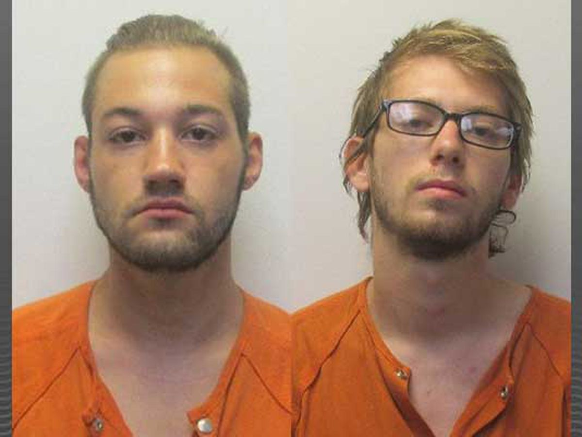 Men arrested, charged with burglary of two southern Indiana churches