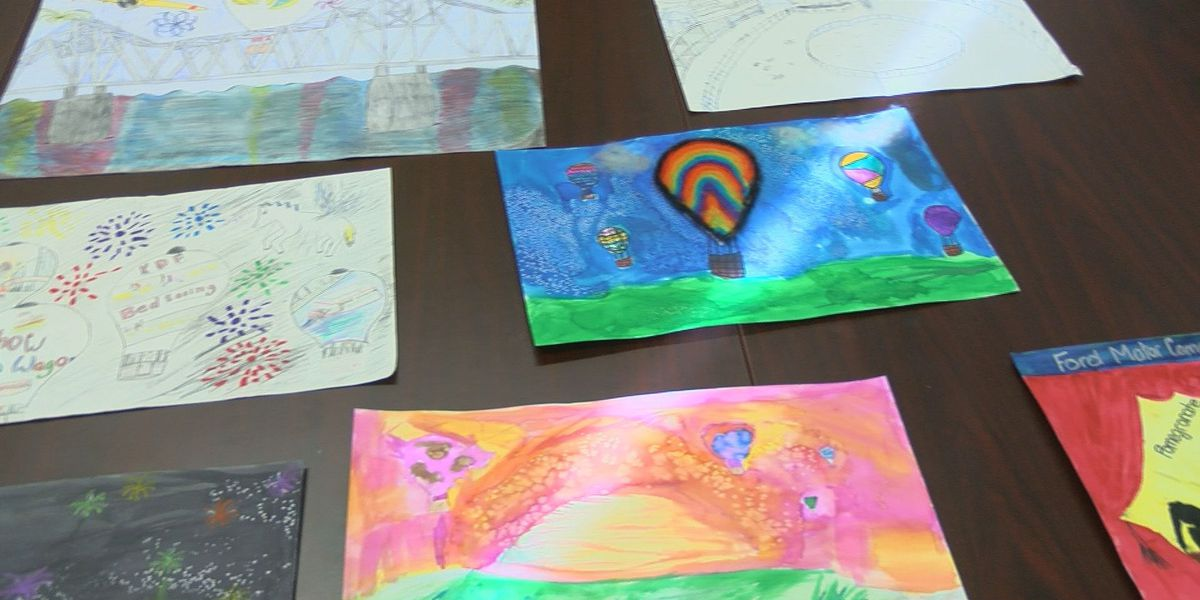 Students use artwork to showcase favorite KDF events