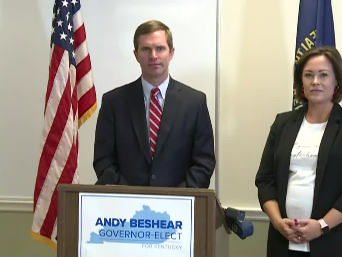 LIVE: Beshear makes transition team announcement