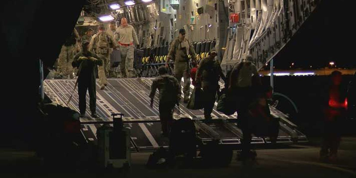 KYANG return home after Hurricane Irma mission