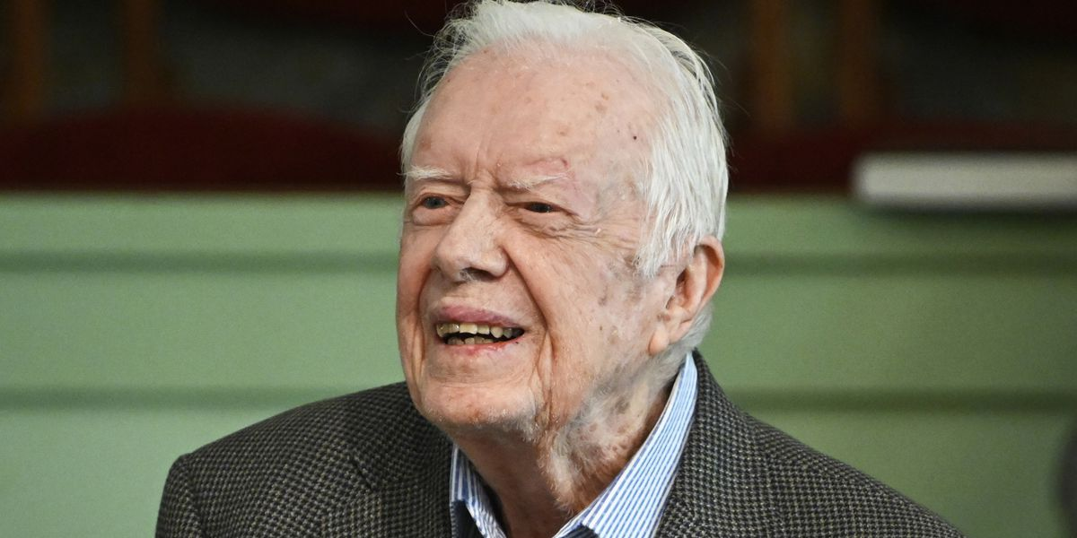 Former Pres. Jimmy Carter responds to President-elect Joe Biden's victory