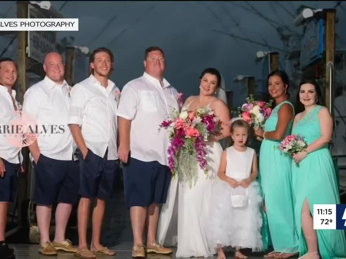 Louisville couple ties the knot, honeymoons in Florida during Hurricane Sally