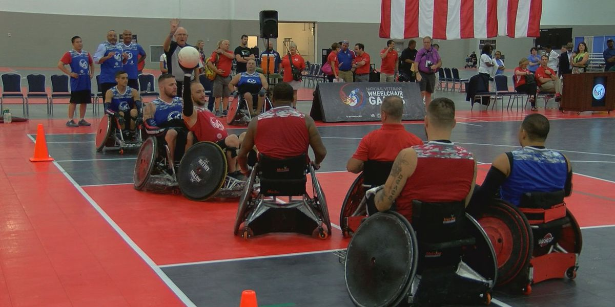 National Veterans Wheelchair Games take over downtown Louisville