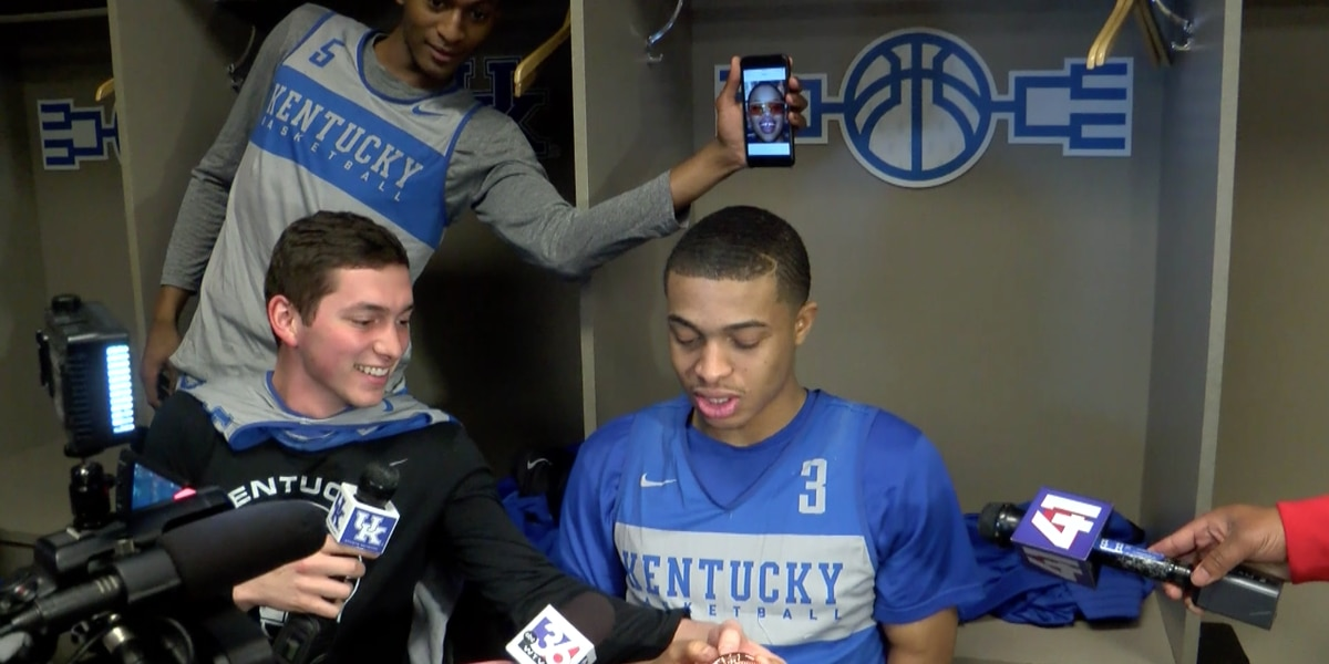 Inside UK's locker room: Wildcats singing and dancing ahead of Sweet 16 matchup