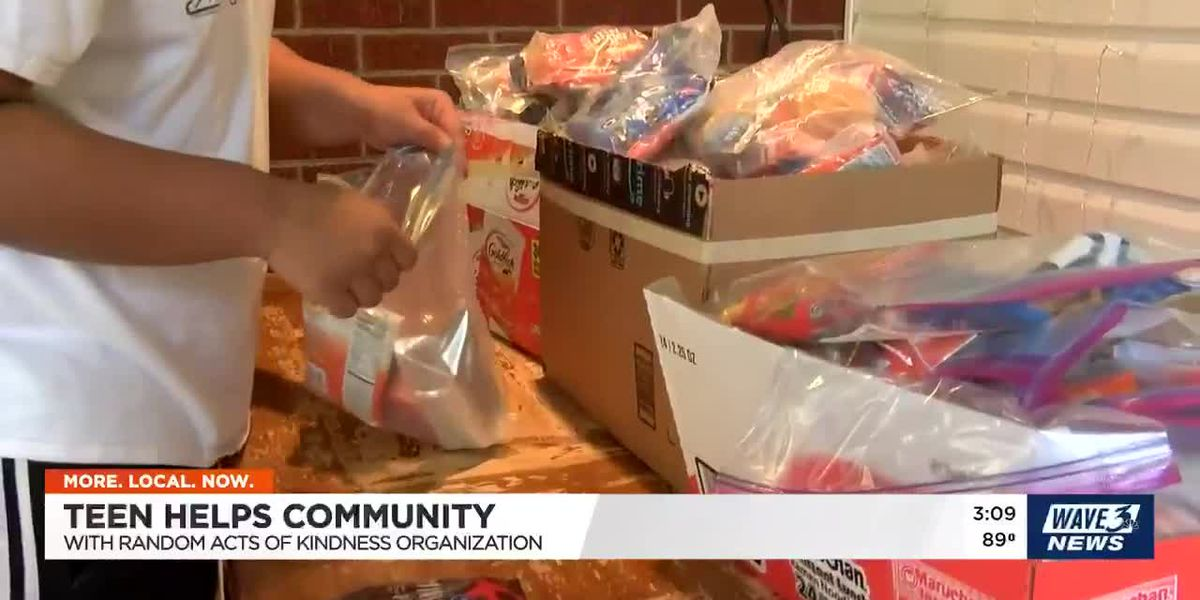 Random Acts of Kindness group helps feed Louisville