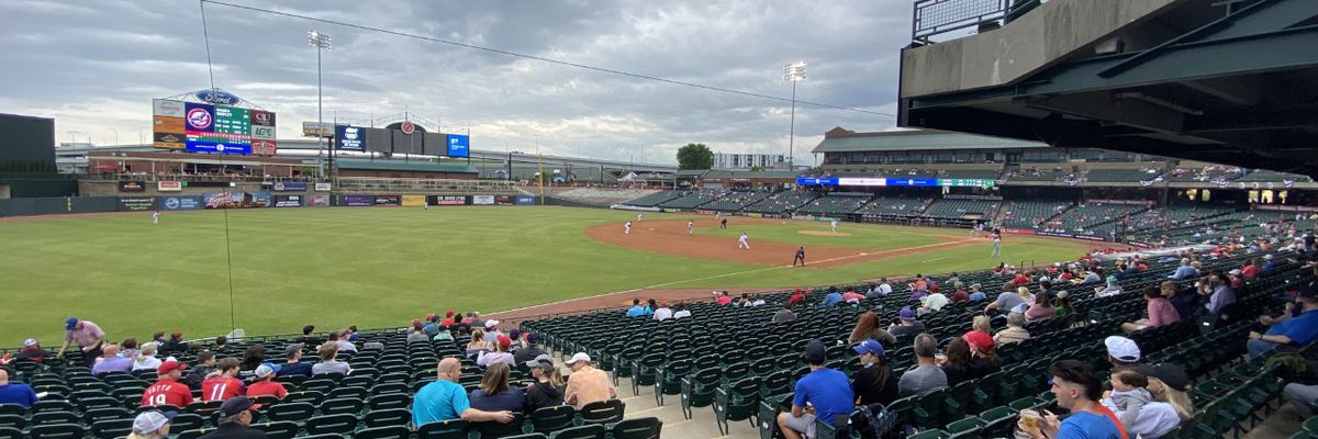 After more than 600 days, Louisville Bats welcome fans back to Slugger Field