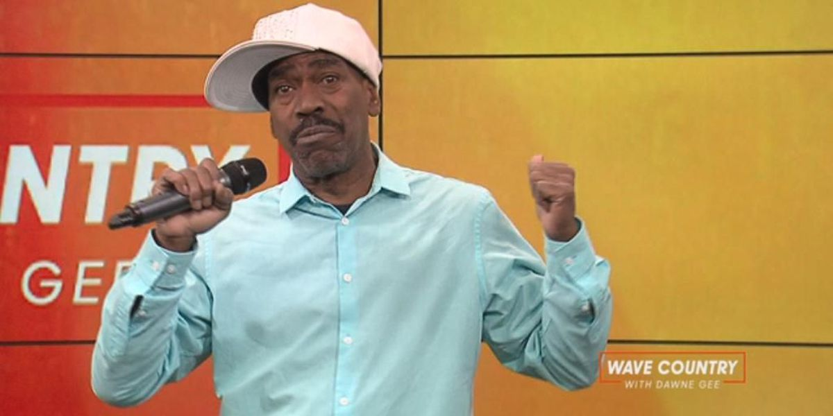Rap legend Kurtis Blow visits Louisville