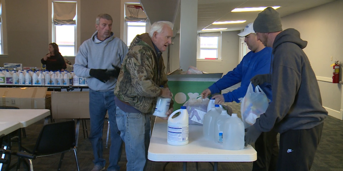 Donations heading to flood victims in southeastern Kentucky