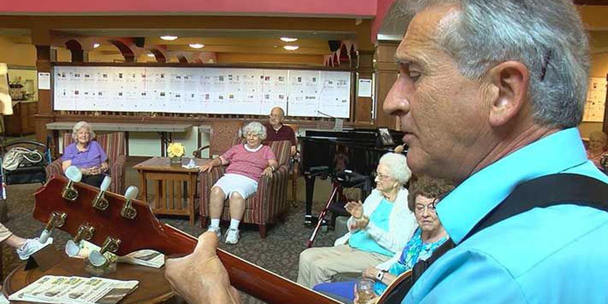 Local makes music magic for assisted living residents