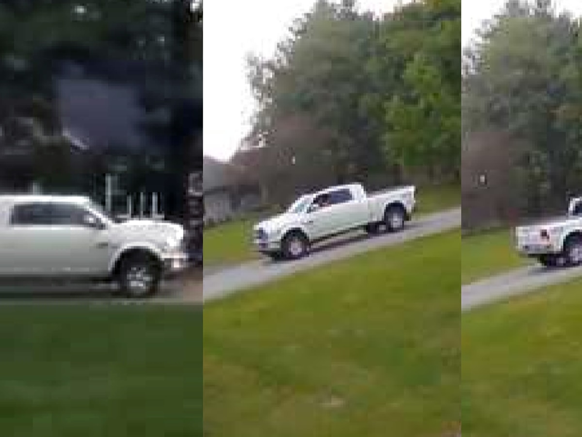 Couple in white truck accused of pointing rifle at Oldham Co. child