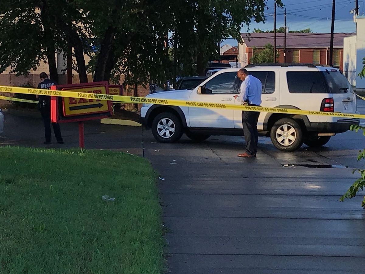 Police: Woman believed to be shooting victim near Clay and Broadway was not shot