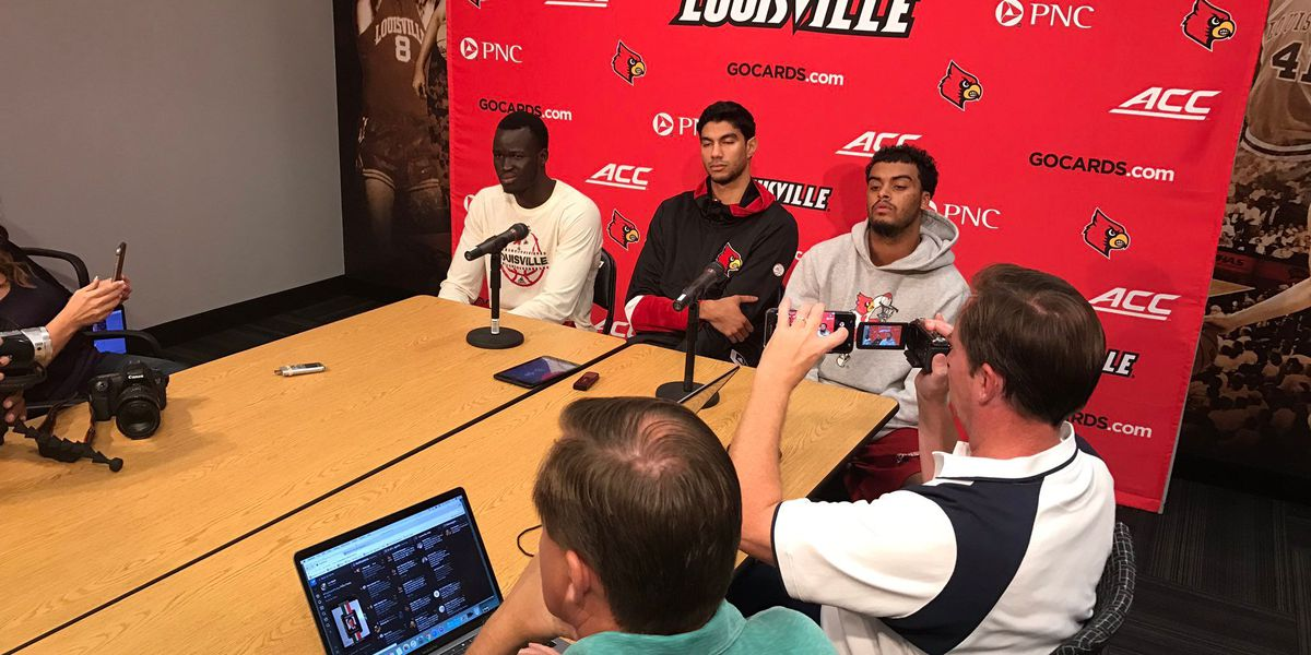 UofL players react to Pitino and new acting head coach