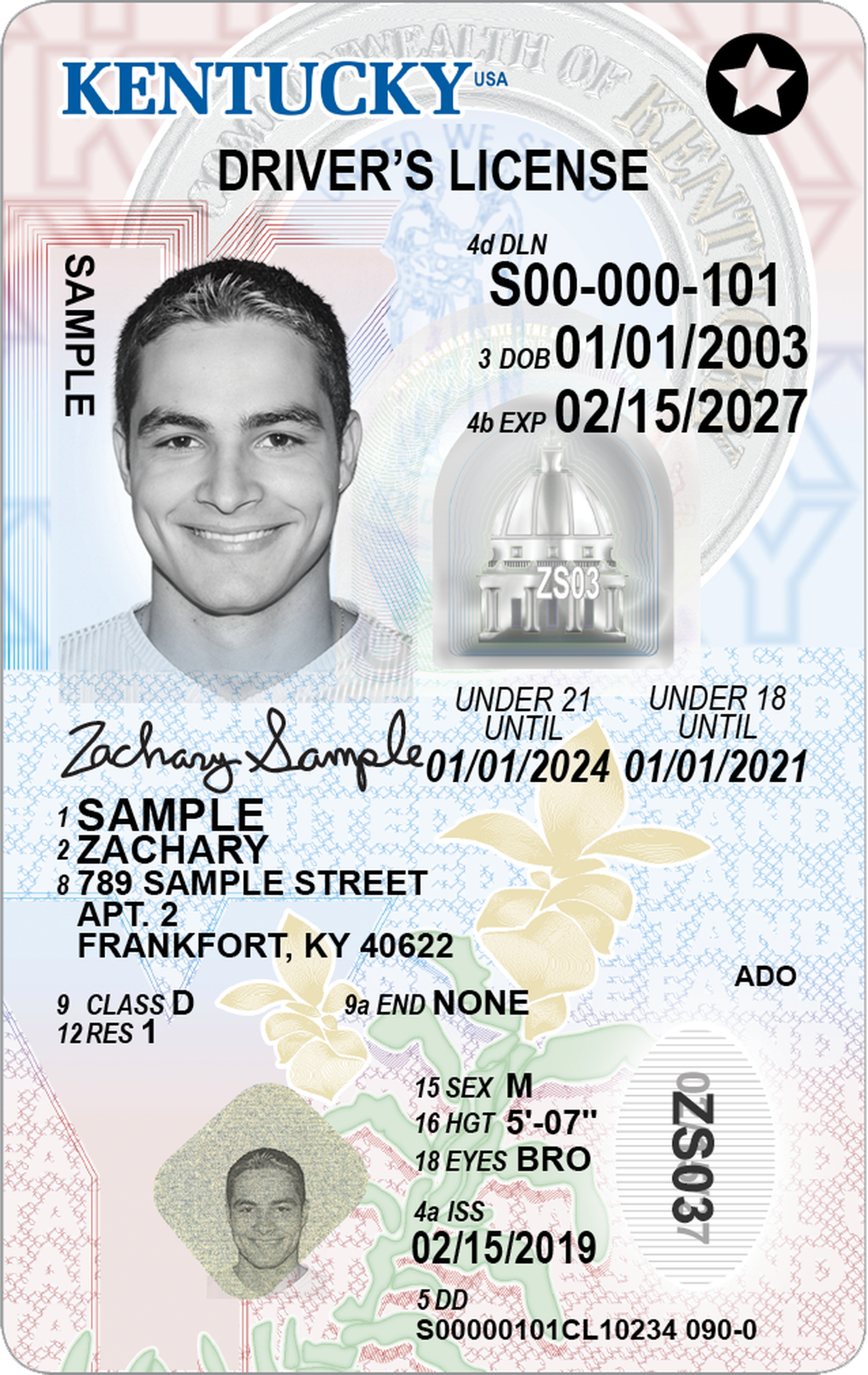 cost of new drivers license in kentucky