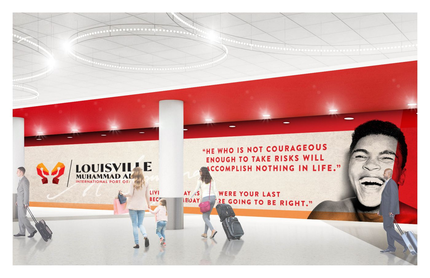 The Greatest is a Louisville legend and worldwide icon. (Source: Louisville Airport Authority)
