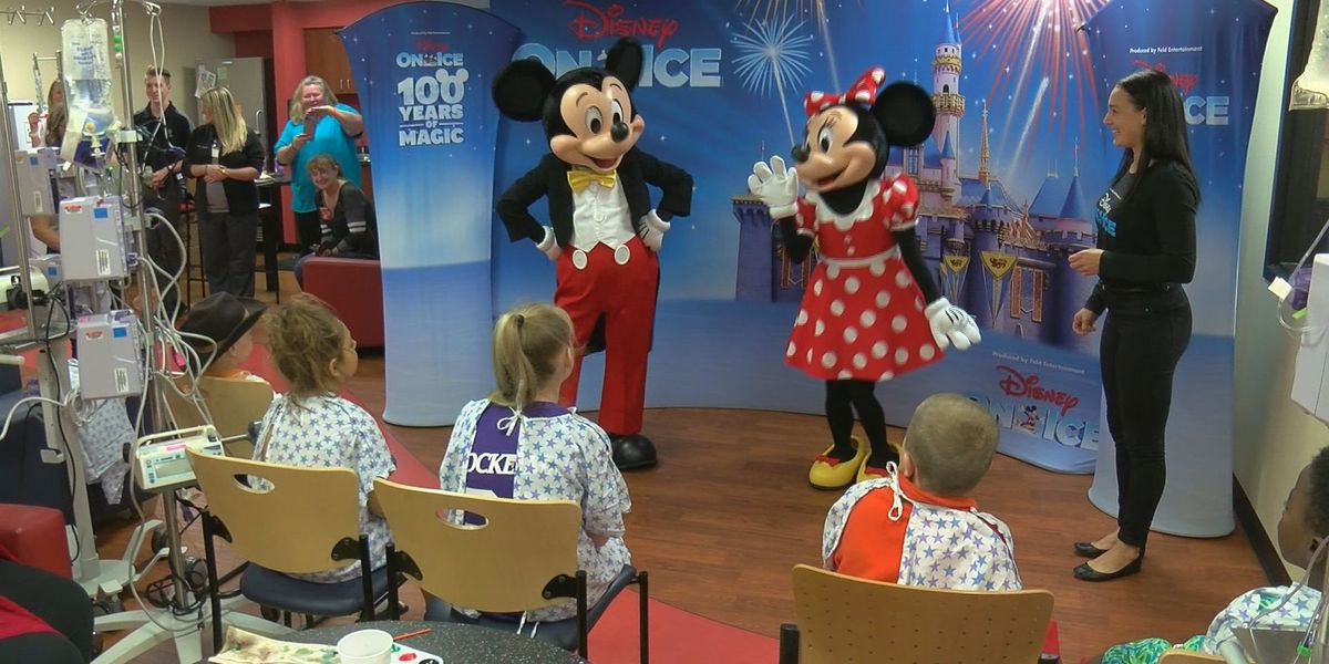 Disney characters bring magic to Norton Children's Hospital