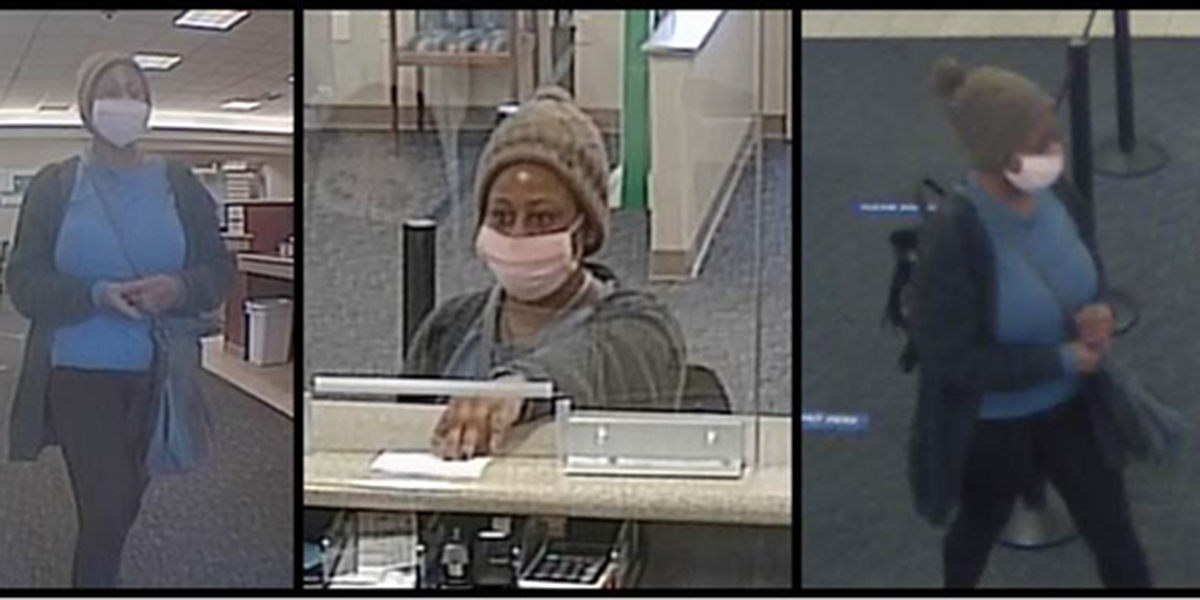 LMPD searching for suspect in bank robbery