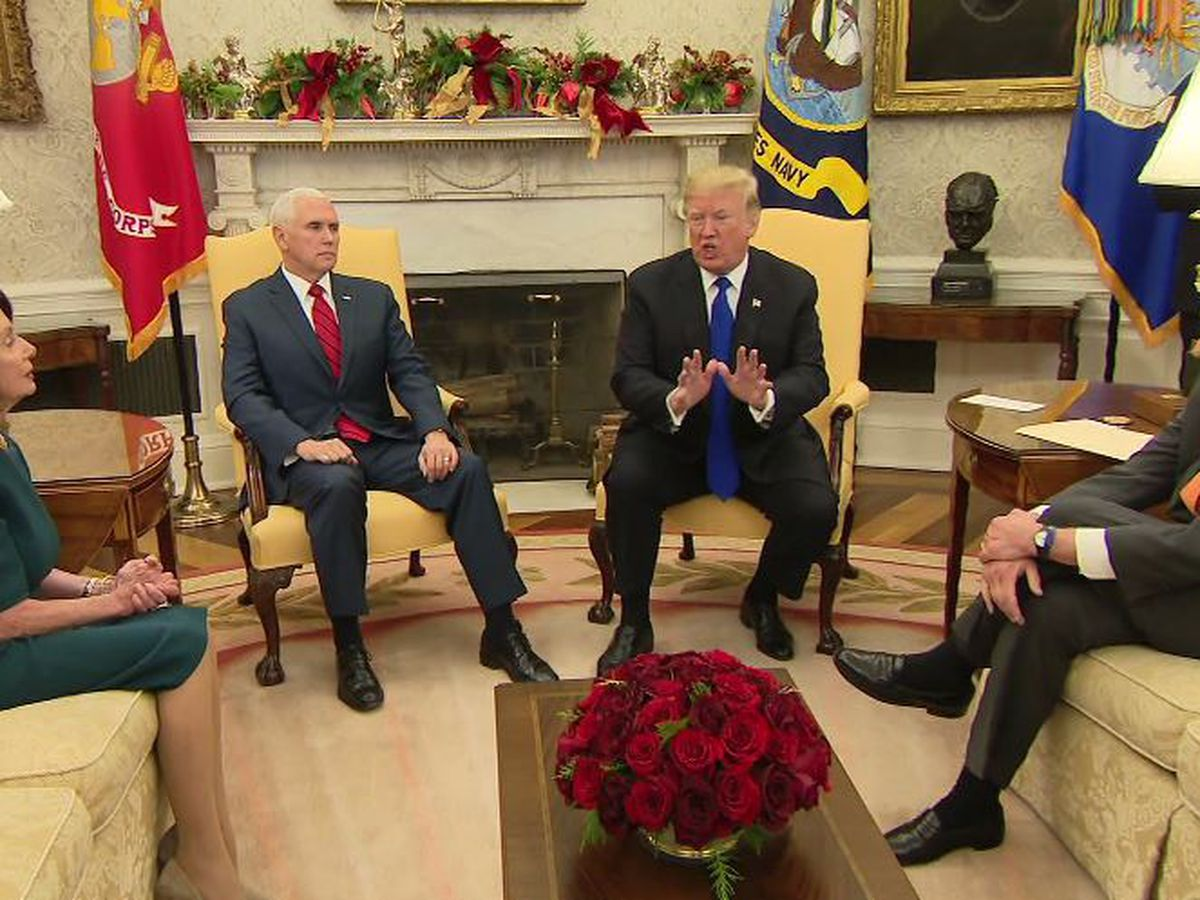 Trump, Democratic leaders meeting to tackle thorny issue of infrastructure funding