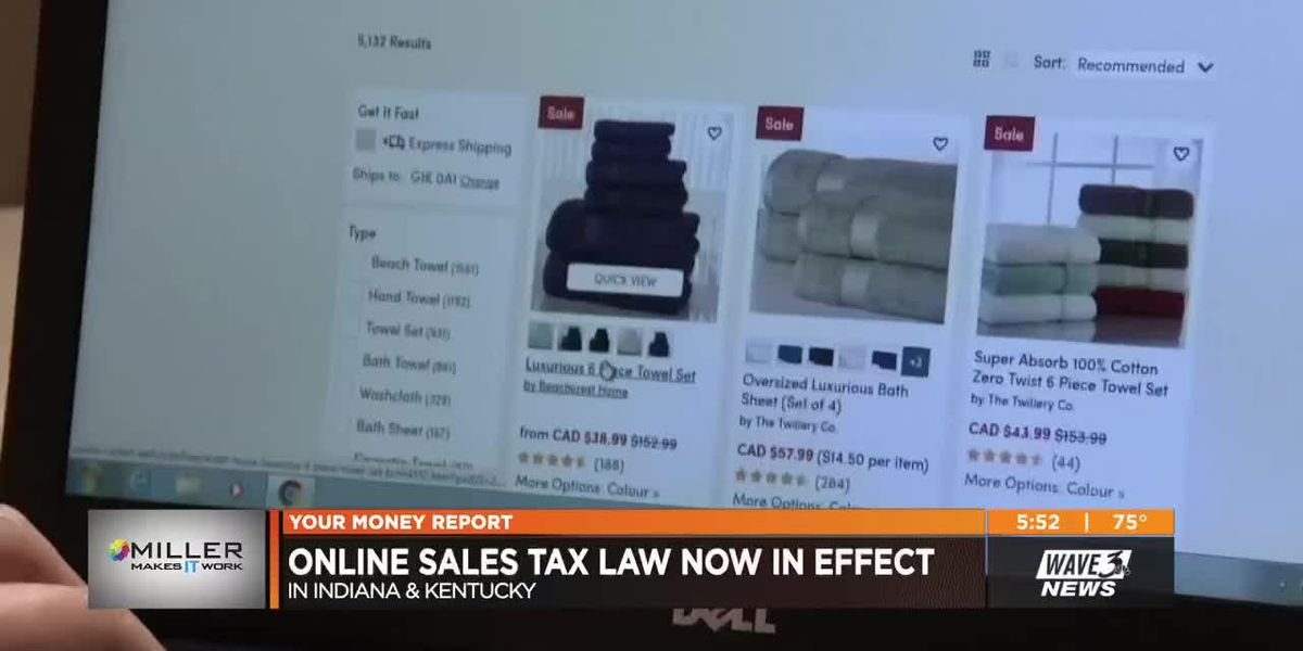 Your Money: Online sales tax, stores closed on Thanksgiving, Amazon