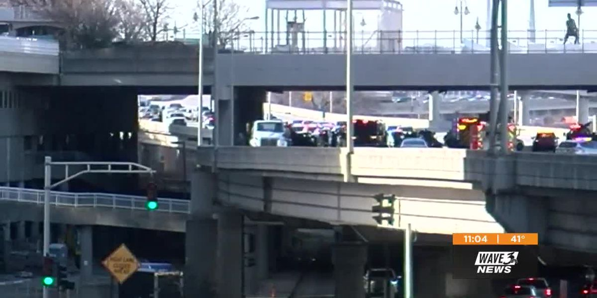 Man injured in wreck that killed LMPD detective has been identified