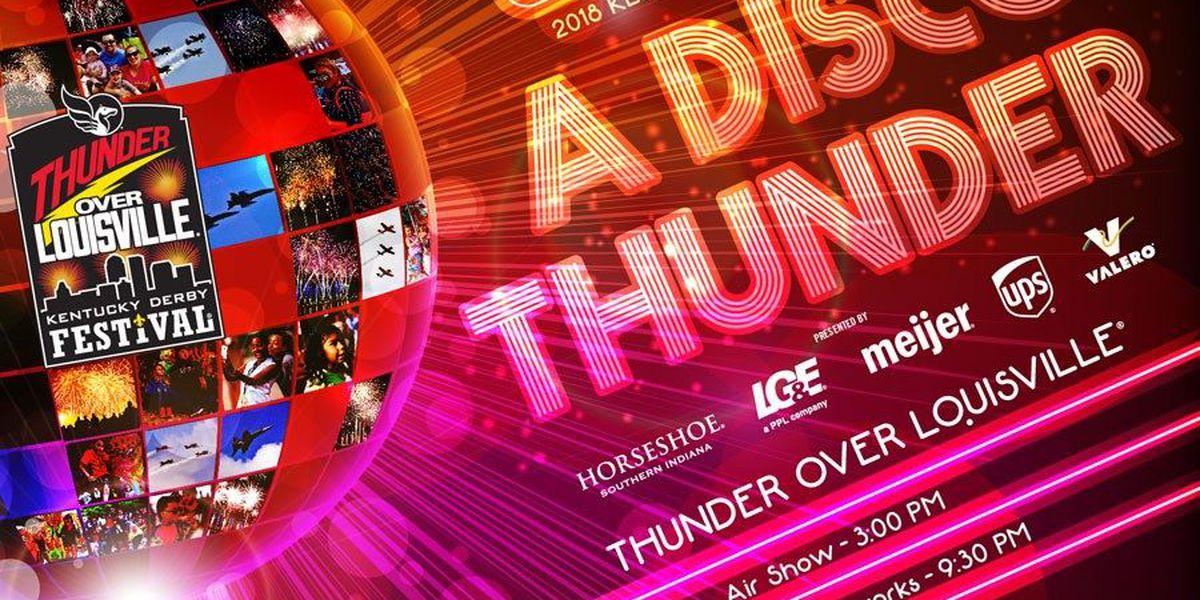 Soundtrack for 'A Disco Thunder' fireworks show set
