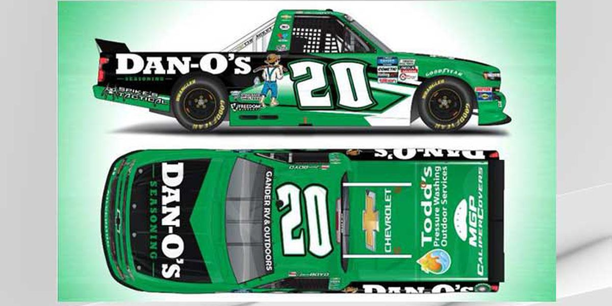 Louisville-based Dan-O's Seasoning to be a primary sponsor in the NASCAR Gander RV & Outdoors Series