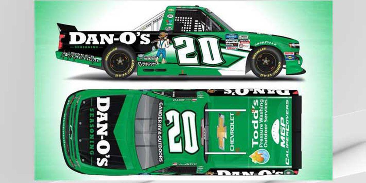 Louisville-based Dan-O's Seasoning to be a primary sponsor in the NASCAR Gander RV & Outdoors Series
