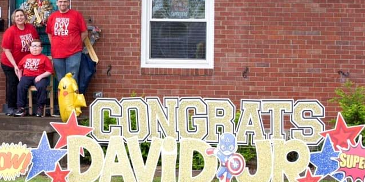 Birthday drive-by parade held for Louisville boy with brain cancer