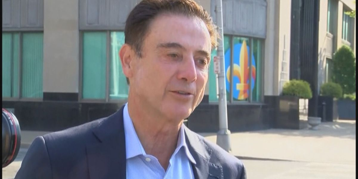 Rick Pitino returns to Louisville, aims to reclaim $38.7 million from contract voided after 2017 termination
