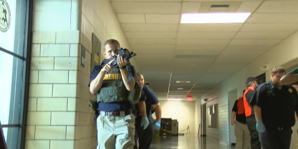Mass shooting training takes place in New Albany