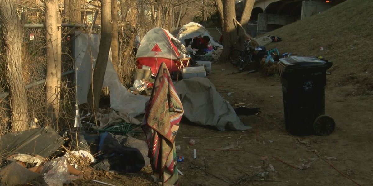 Homeless to stay in Old Louisville camp past eviction date